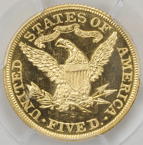 Picture of 1907 LIBERTY $5 PR65 Cameo