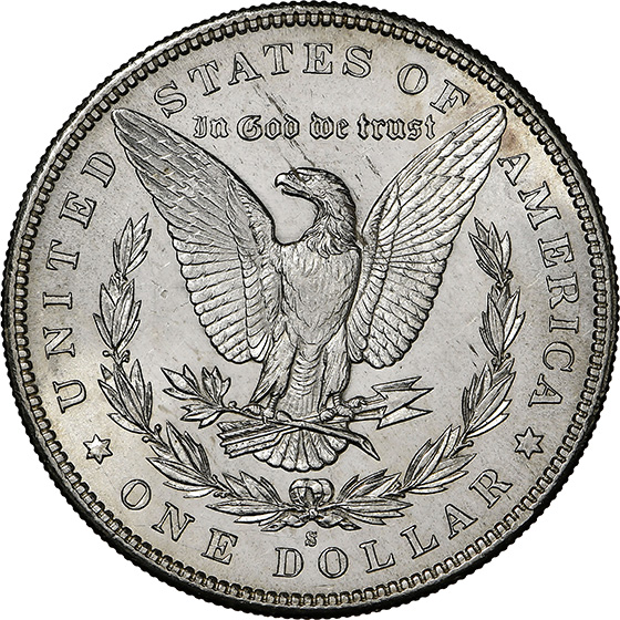Picture of 1893-S MORGAN S$1 MS63