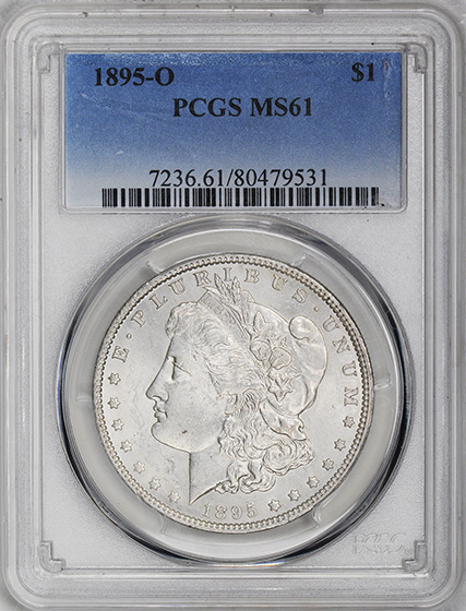 Picture of 1895-O MORGAN S$1 MS61