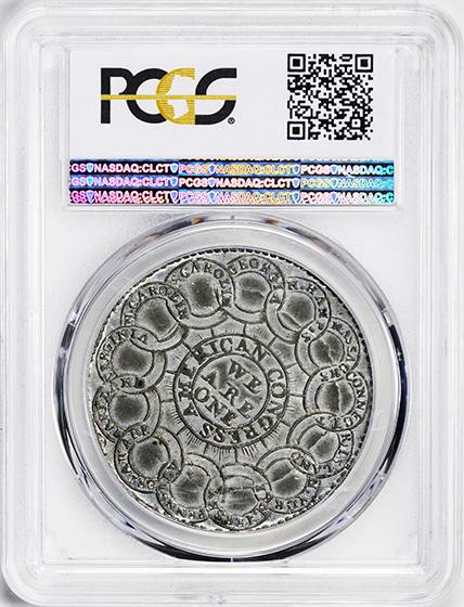 Picture of 1776 EG FECIT, PEWTER $1 MS62