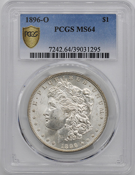 Picture of 1896-O MORGAN S$1 MS64