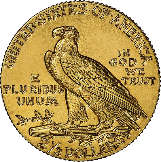 Picture of 1910 INDIAN $2.5 PR68+