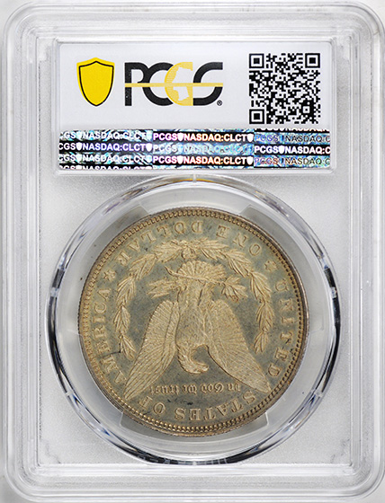 Picture of 1895 MORGAN S$1 PR64 Cameo
