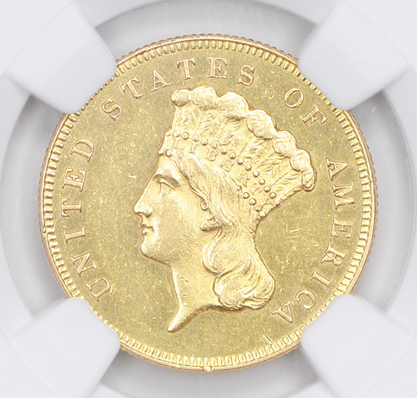 Picture of 1865 INDIAN PRINCESS $3 MS60