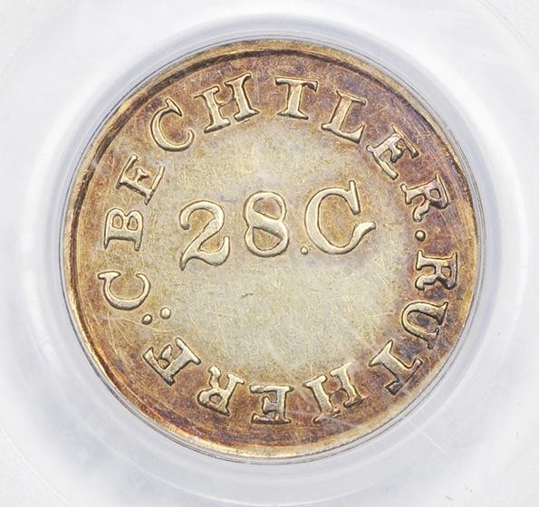 Picture of C BECHTLER G$1, 28 GRAIN HIGH AU55