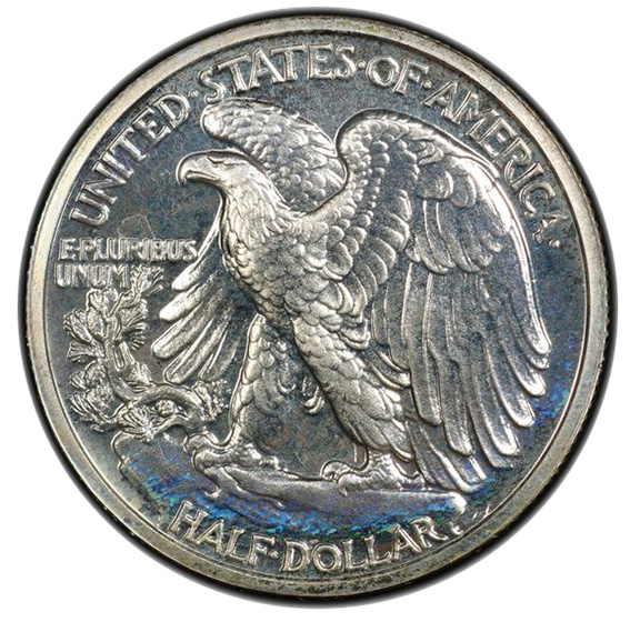 Picture of 1936 WALKING LIBERTY 50C PR67