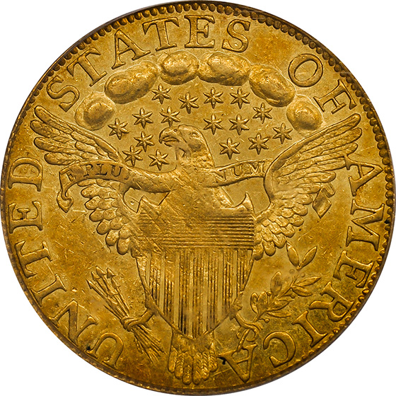 Picture of 1797/5 DRAPED BUST $5, LARGE EAGLE MS61