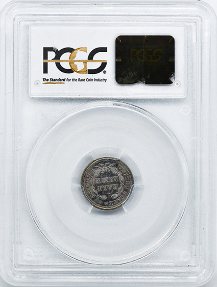 Picture of 1856 LIBERTY SEATED H10C PR65
