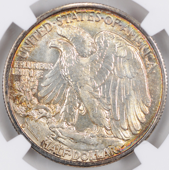 Picture of 1941-S WALKING LIBERTY 50C MS67