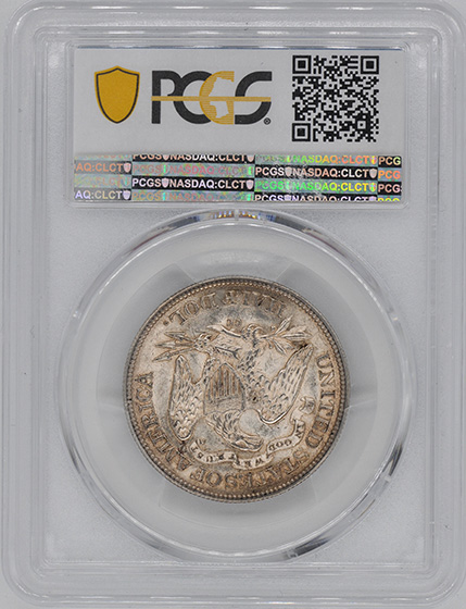 Picture of 1870-CC LIBERTY SEATED 50C, MOTTO MS63