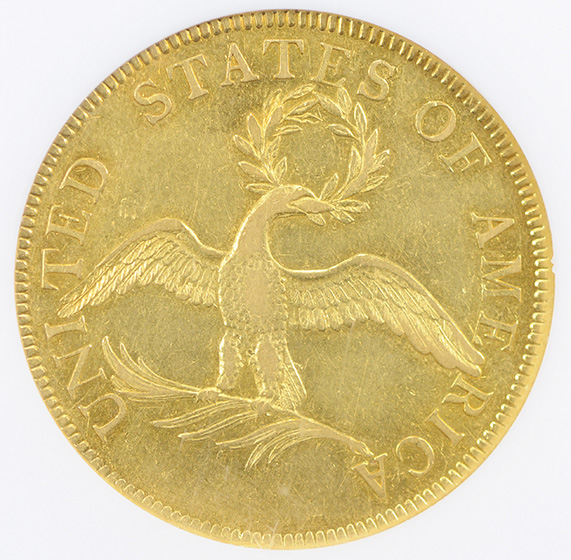 Picture of 1796 DRAPED BUST $10 AU58