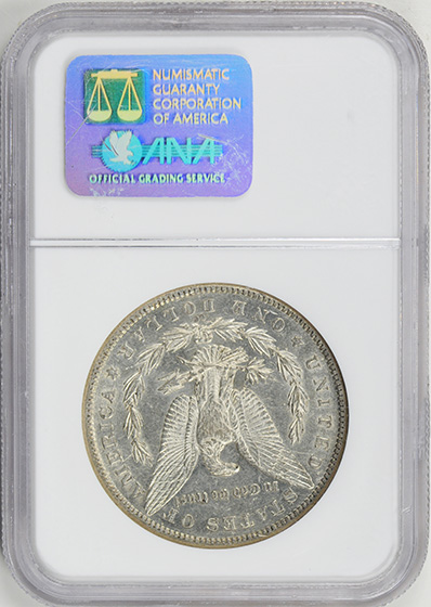 Picture of 1889-CC MORGAN S$1 AU55