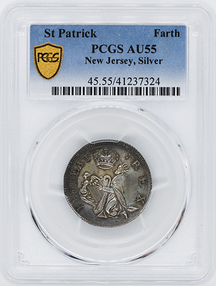 Picture of ST PATRICK NEW JERSEY, SILVER FARTH AU55