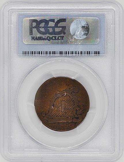 Picture of 1776 COPPER NEW HAMPSHIRE MS10