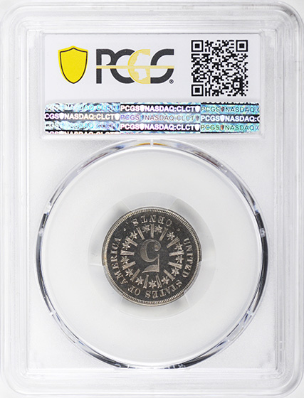 Picture of 1867 SHIELD 5C, RAYS PR66