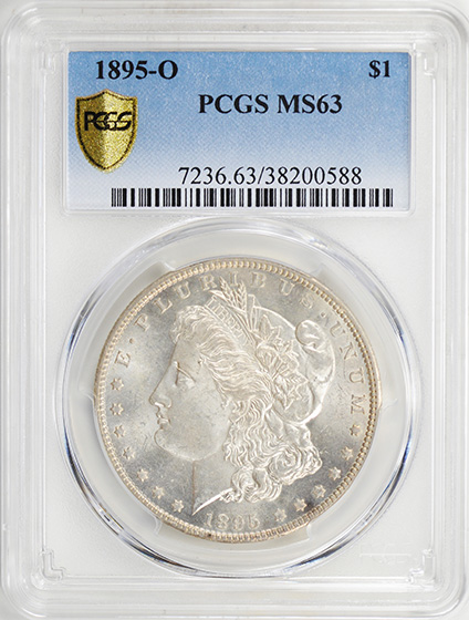 Picture of 1895-O MORGAN S$1 MS63