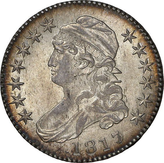 Picture of 1817 CAPPED BUST 50C MS62