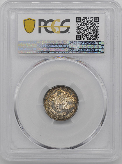 Picture of 1830/29 CAPPED BUST 10C MS66