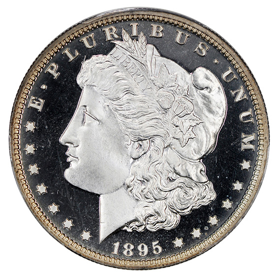 Picture of 1895 MORGAN S$1 PR67 Deep Cameo