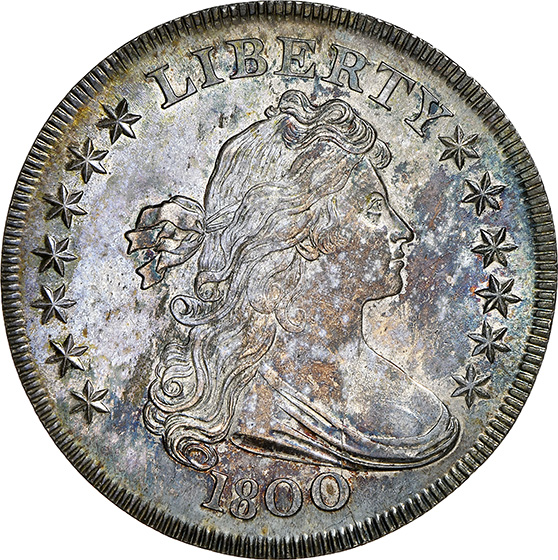 Picture of 1800 DRAPED BUST $1 MS65