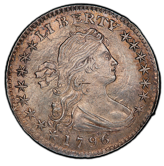 Picture of 1796 DRAPED BUST H10C MS64