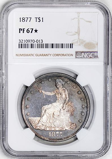 Picture of 1877 TRADE T$1 PR67