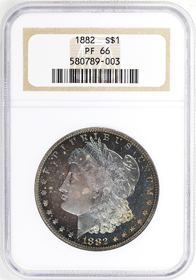 Picture of 1882 MORGAN S$1 PR66