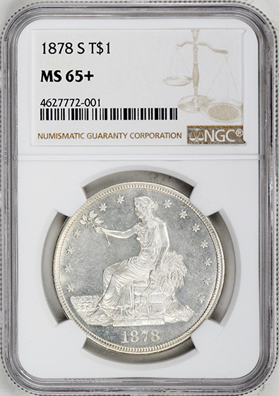 Picture of 1878-S TRADE T$1 MS65+