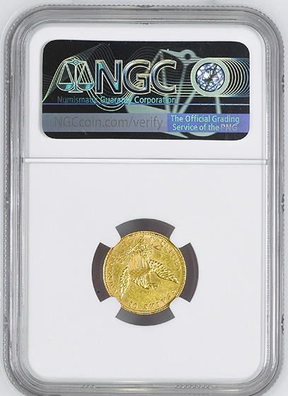 Picture of 1839-C CLASSIC HEAD $2.5 MS61