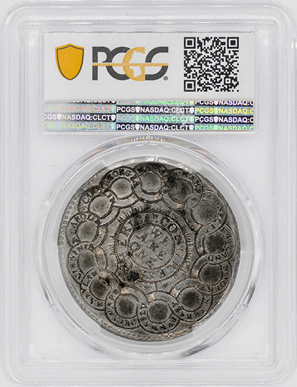 Picture of 1776 CONTINENTAL CURRENCY $1, CURENCY, PEWTER MS62
