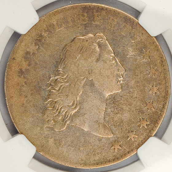 Picture of 1794 FLOWING HAIR $1 MS30