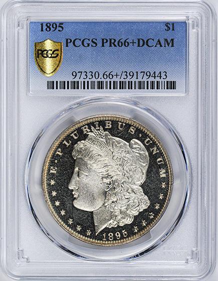 Picture of 1895 MORGAN S$1 PR66+ Deep Cameo