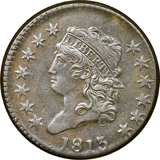 Picture of 1813 CLASSIC HEAD 1C MS61 Brown