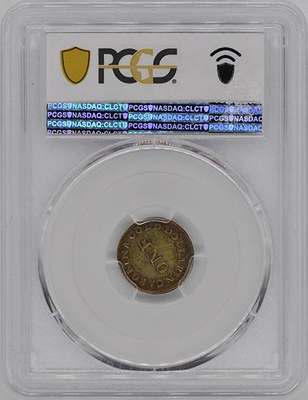 Picture of C BECHTLER G$1, 28 GRAIN HIGH AU58