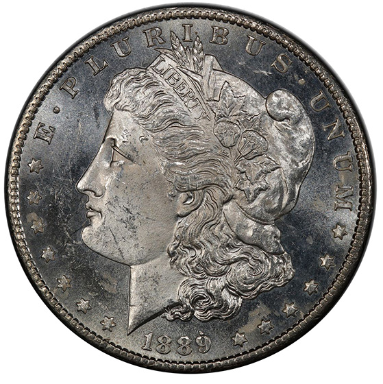 Picture of 1889-CC MORGAN S$1 MS63