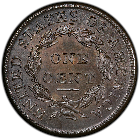 Picture of 1808 CLASSIC HEAD 1C MS64 Brown