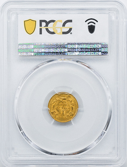 Picture of 1855-O GOLD G$1, TYPE 2 MS63