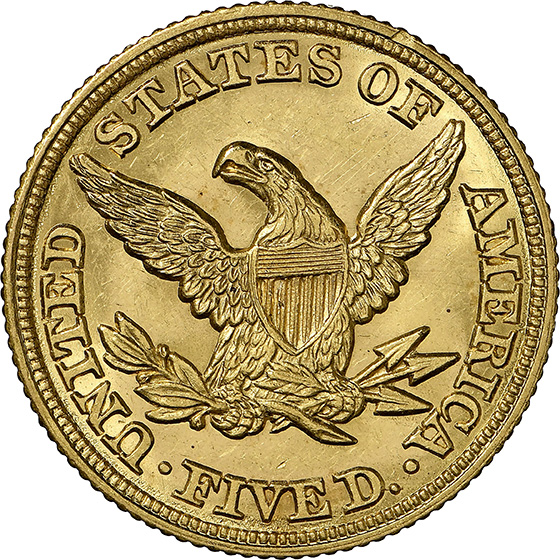 Picture of 1847 LIBERTY $5 MS64