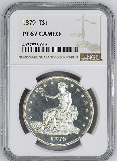 Picture of 1879 TRADE T$1 PR67 Cameo