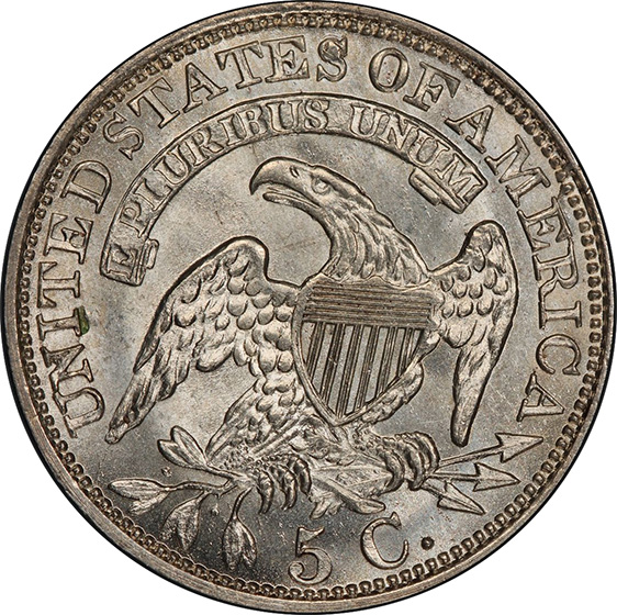 Picture of 1829 CAPPED BUST H10C MS67