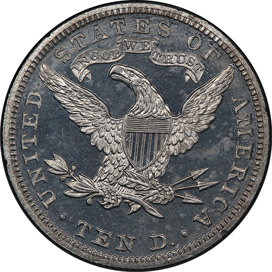 Picture of 1885 LIBERTY $10, J-1755 PR65 Cameo