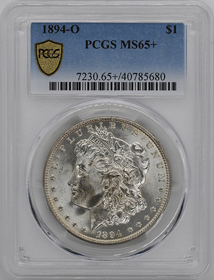 Picture of 1894-O MORGAN S$1 MS65+