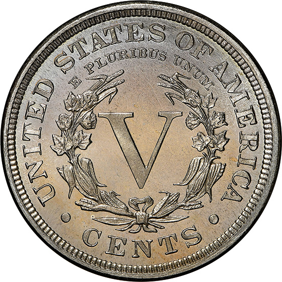Picture of 1892 LIBERTY 5C PR68 Cameo