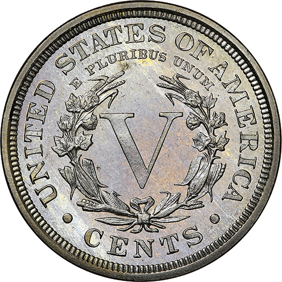 Picture of 1908 LIBERTY 5C PR68 Cameo