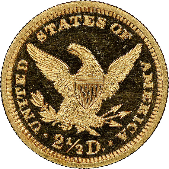 Picture of 1888 LIBERTY HEAD $2.5 PR65 Cameo