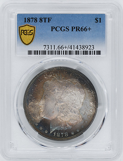 Picture of 1878 MORGAN S$1 PR66+