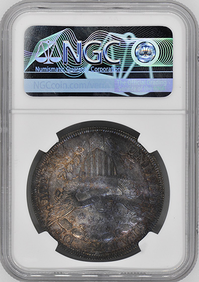 Picture of 1800 DRAPED BUST $1 MS66