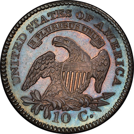 Picture of 1825 CAPPED BUST 10C PR67