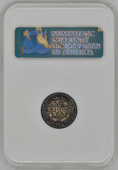 Picture of 1838-O LIBERTY SEATED 10C, NO STARS MS65
