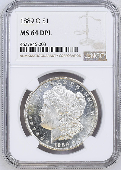 Picture of 1889-O MORGAN S$1 MS64 DMPL